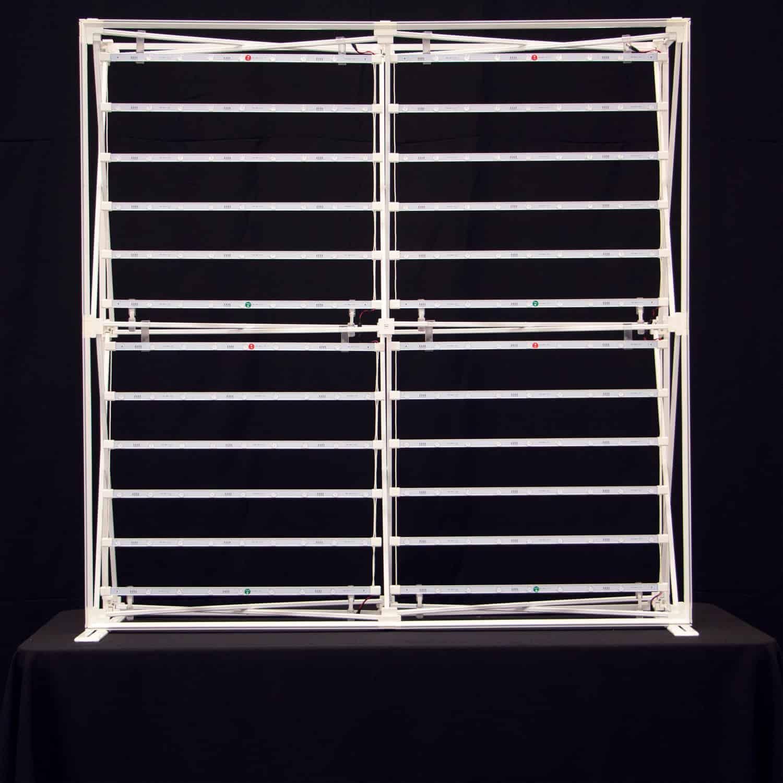 Verge and Verge Glo 5' Table Top Displays