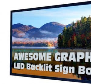 Backlit display